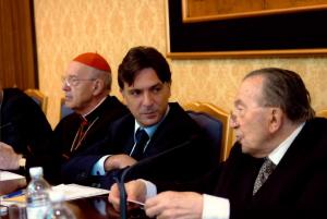 Enrico Gasbarra con Giulio Andreotti