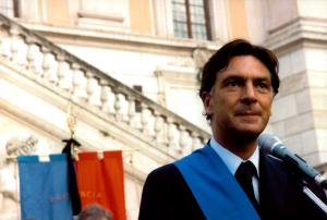 Enrico Gasbarra in Campidoglio