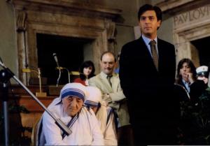 Gasbarra e Madre Teresa