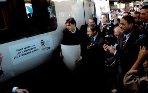 Gasbarra treno Provincia di Roma